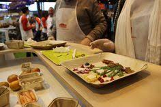 blogueuse cuisine atelier cuisine sur le salon de l agriculture avec le blogueur