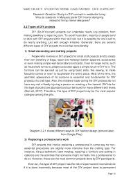 Interior Designer Students For Hire by Design Research Study On Diy Do It Yourself Concept In Residential U2026