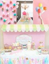 Ice Cream Decorations Ice Cream Theme Party Bop Till You Drop