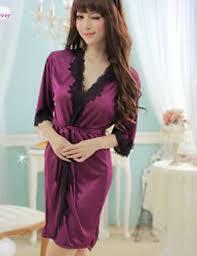 robe de chambre en satin robe de chambre satin soie ultra vêtement de nuit femme
