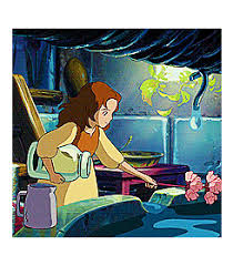 borrower arrietty u2013 animation