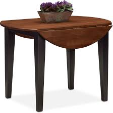 Diy Drop Leaf Table Nantucket Drop Leaf Table Black And Cherry Value City Furniture