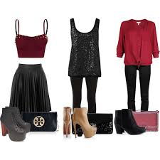 ideas for new years eve skirts and jeans polyvore