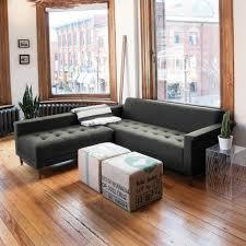 harbord loft bi sectional sofa in leaside driftwood design by gus