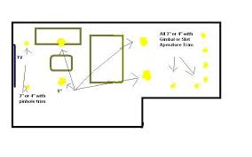 Bedroom Lighting Layout A Recessed Lighting Layout Entrestl Decors
