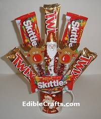 candy basket ideas handmade christmas gifts and christmas party food ideas