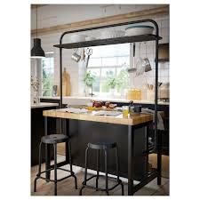 does ikea kitchen islands vadholma rack for kitchen island black ikea
