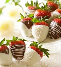 White Chocolate Covered Strawberries By Driscoll U0027s Marble Chocolate Covered Strawberries Www Driscolls Com