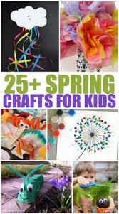 25 spring crafts for kids a grande life