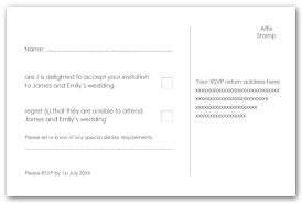 wedding rsvp wording template rsvp reply exle isure search