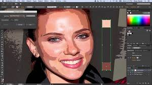 vector skin tone tutorial illustrator cc vector portrait 03 custom skin tones youtube