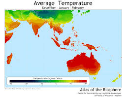 Temperature Map Usa by Center For Sustainability And The Global Environment Sage
