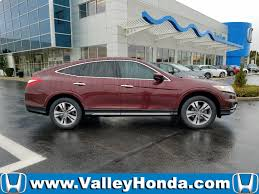 certified pre owned 2014 honda crosstour ex l sport utility in