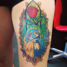 my new beauty and the beast tattoo as of 11 4 13 just the