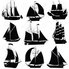 1 196 sailboat contour stock illustrations cliparts and royalty