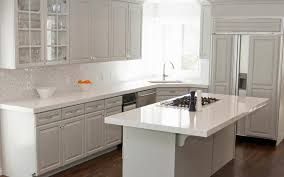 grey kitchen cabinets with granite countertops u2014 the clayton