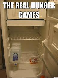Fridge Meme - and may the odds be ever in your favor with four kids asking