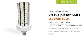 60 watt post top retrofit led corn light bulbs