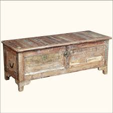 the classic old look in rustic chest coffee table coffe table