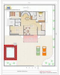 4 Bedroom Duplex Floor Plans Duplex House Plan And Elevation 4217 Sq Ft Home Appliance