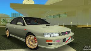 green subaru wrx subaru impreza wrx for gta vice city