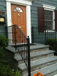 porch stair railing kits vinyl aluminum deck handrails lowes front