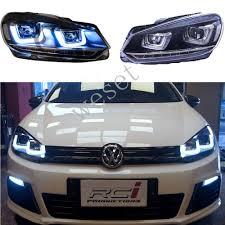 gti volkswagen 2014 mk6 gti headlights ebay
