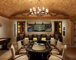 home sports bar traditional with party room walnut height stools4
