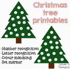 christmas tree printables welcome to mommyhood