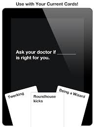 cards against humanity expansion cards against humanity expansion pack comes to ios with black