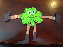 art and crafts shamrock people life of dad