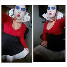 queen of hearts makeup u0026 diy costume youtube