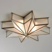 Star Light Chandelier Frosted Glass Star Chandelier Shades Of Light