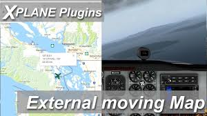 Maps Google Com Los Angeles by X Plane Plugins And Addons External Moving Map Google Maps