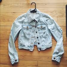 Light Denim Jacket 58 Off Forever 21 Jackets U0026 Blazers Forever21 Light Wash Denim