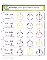 free worksheets telling time worksheets for grade 1 free math