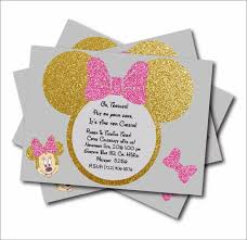 minnie mouse baby shower invitations 20 pcs lot minnie mouse gold glitter custom party invites minnie