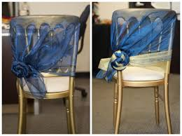 chair sash wedding chair inspiration side rosette chair sash style