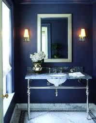Navy Blue Bathroom Ideas Colors Jewel Tone Colors Sapphire Powder Room Walls Color File