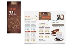 coffee shop menu template coffee shop menu template by stocklayouts edit print