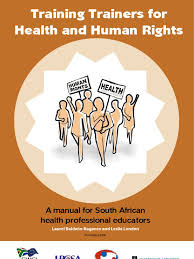 training trainers for health and human rights a manual for south