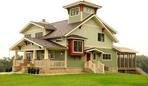 house with tower custom home with lookout tower craftsman exterior other by