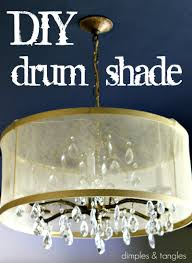 diy drum shade tutorial dimples and tangles