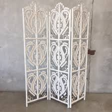 screen room divider white wicker screen room divider u2013 urbanamericana