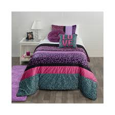 girls cheetah bedding dusty pink bedding set tokida for