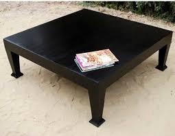 black square cocktail table square black coffee table facil furniture