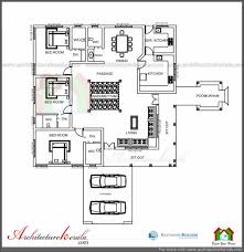 model house plans house plan three bedrooms in 1200 square feet kerala house plan