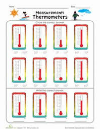measurement mania thermometers worksheets searching and articles