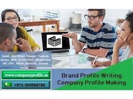 company profile writing 971 504968788 brand profile writing company profile making in
