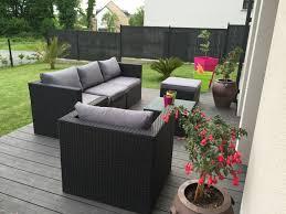 salon de jardin prix salon de jardin ensemble table et chaises de jardin en solde